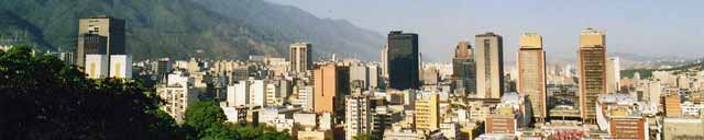 Caracas from El Calvario