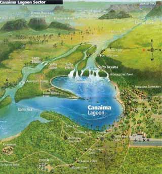 Laguna de Canaima Sector