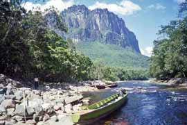 Churún river in Canaima