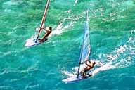 Windsurfing in Los Roques
