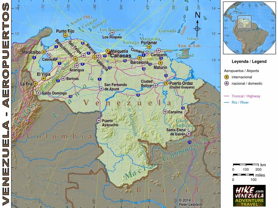 Venezuela Maps hikevenezuelacom