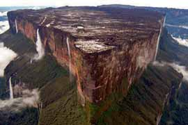 Monte Roraima visto do norte