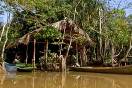 Eco-Camp im Orinoco Delta